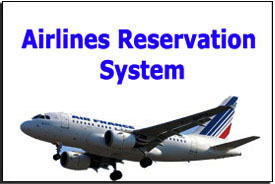 online airline booking system