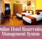 Online hotel reservation management system