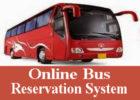 Online bus reservation system