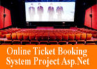 Online Ticket Booking System Project Asp Net
