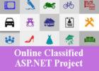 Online Classified - ASP NET Project
