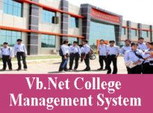243 - Vb Net College Management System Project