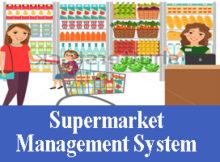 244 - Supermarket Management System VB NET Project