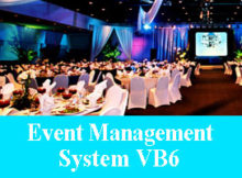 Event Management System vb6 Project