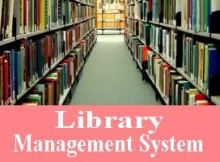 Library Management System Project in vb
