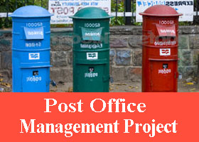 225 Post Office Management System Project In Asp