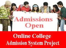 Online College Admission System Project