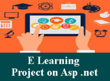 E Learning project on asp net