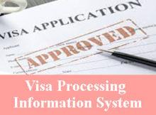 Visa Processing Information System