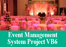 245 Online Event Management System Project Vb6