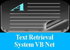 Text Retrieval System VB Net Project