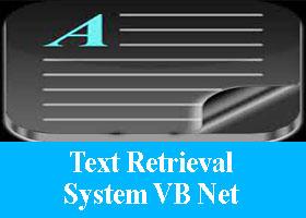 Text Retrieval System VB Net Project
