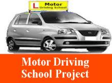 Motor Driving School Project Asp Net